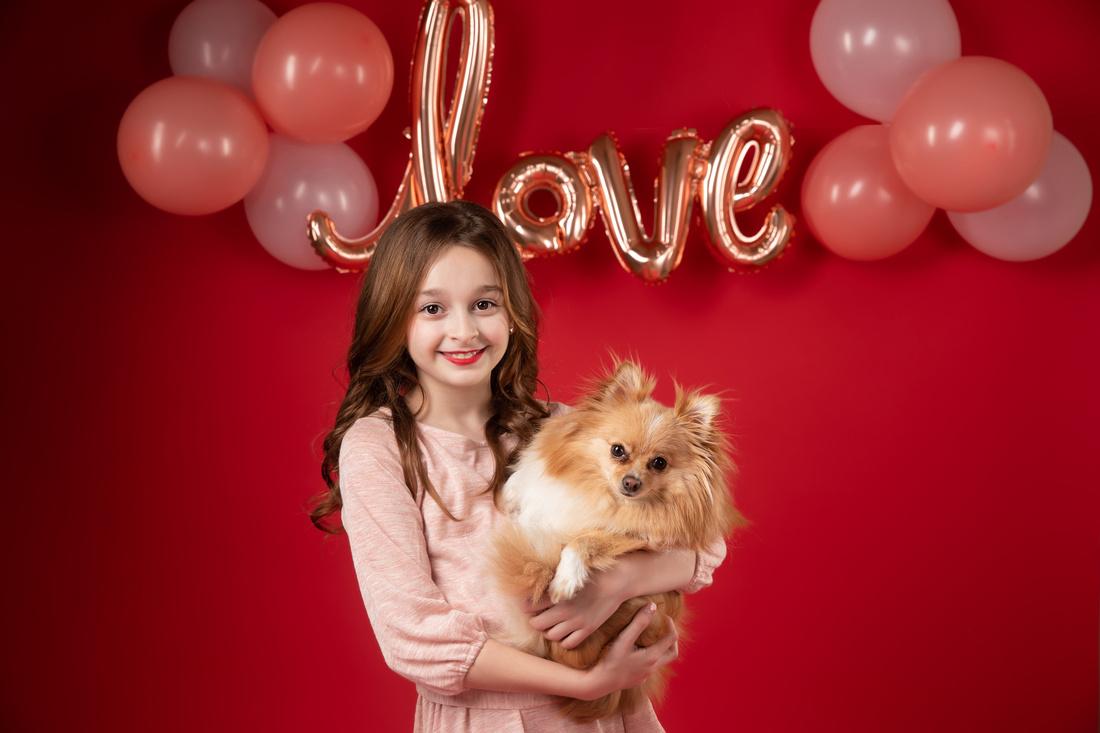 Valentine's Day 2021. Children, pre-teen, teen, family photography, McAllen Texas photographer